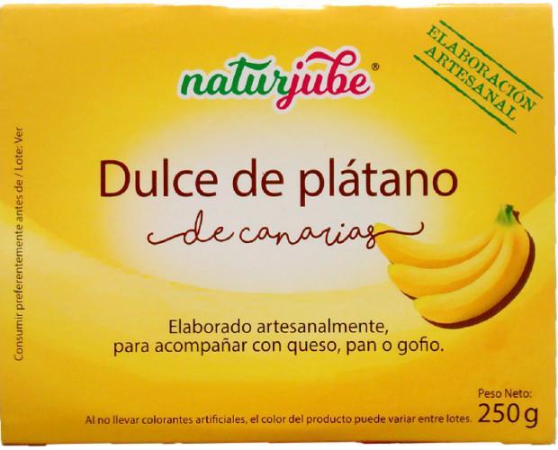 Dulce de plátano. Dulce de plátano de Canarias.