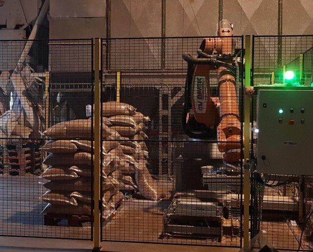 Proceso de envasado. Robotización proceso de envasado