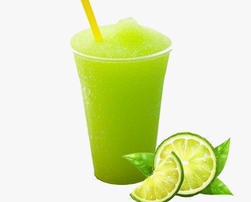 Granizada de limón. Sabor Refrescante