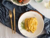 Pechuga de Pollo en Salsa de Almendras