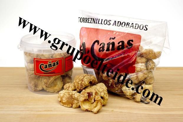 Torreznos. Torreznos en formato de Bolsa 250gr sin conservantes ni aditivos.