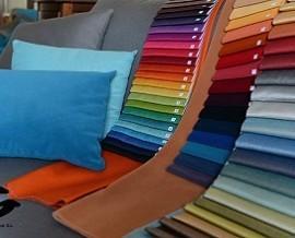Telas para tapicería. Textiles ignífugos para tapicería