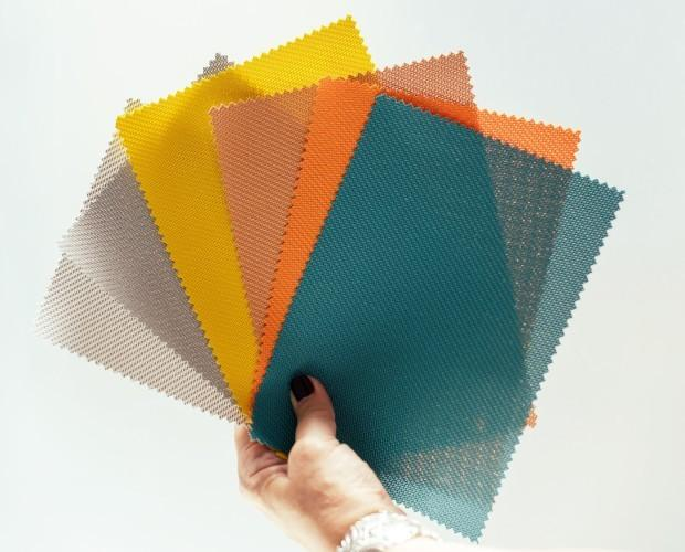 Tejidos técnicos. Screens ignífugos, gran variedad de colores y texturas
