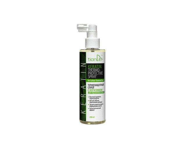 Spray Termoprotector. Perfecto para minimizar los efectos dañinos sobre nuestro cabello
