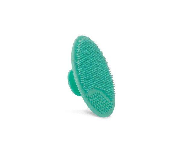 Esponja color Turquesa. Para el lavado facial y masaje