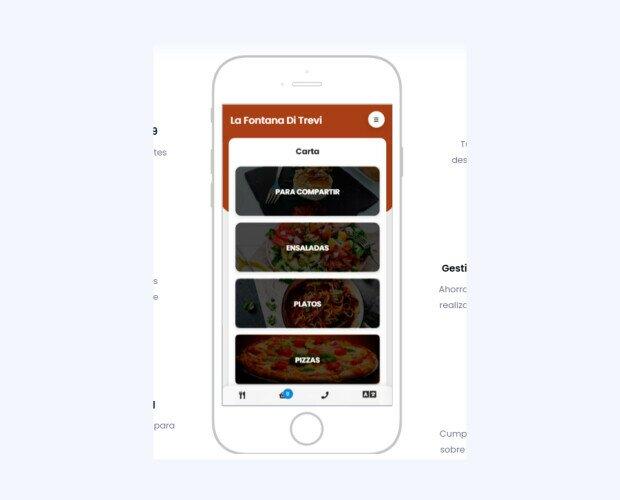Carta Digital App. Gestiona tus pedidos en restaurante o a domicilio en unos minutos