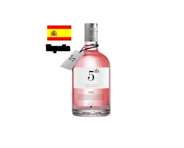 Ginebra. 5 th red fruits 70 cl
