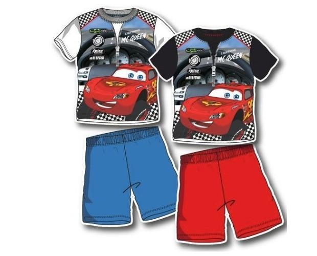Pijama de manga corta . Pijama de manga corta de Cars