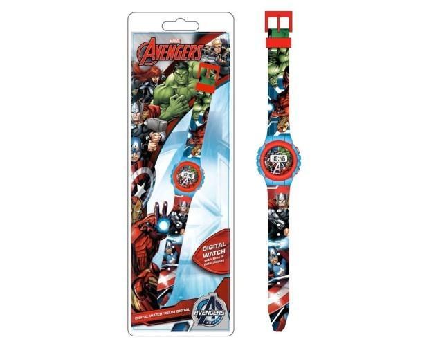 Reloj digital . Reloj digital Avengers