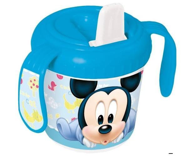 Taza entrenamiento. Taza entrenamiento pp de Mickey Mouse