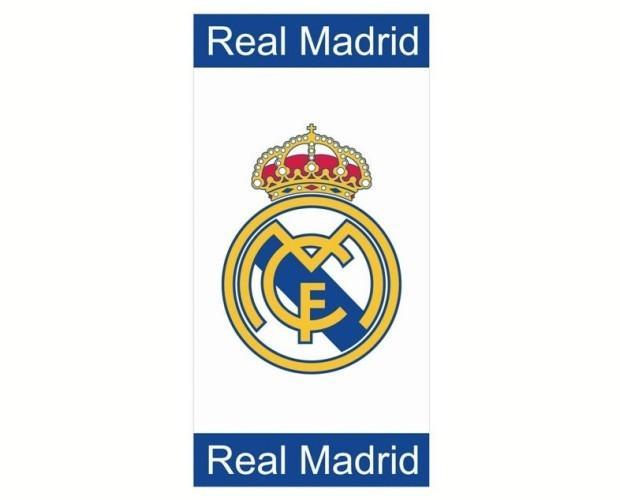 Toalla playa microfibra. Toalla playa microfibra 75x150cm de Real Madrid