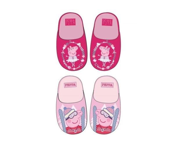 Zapatillas. Zapatillas abiertas de Peppa Pig