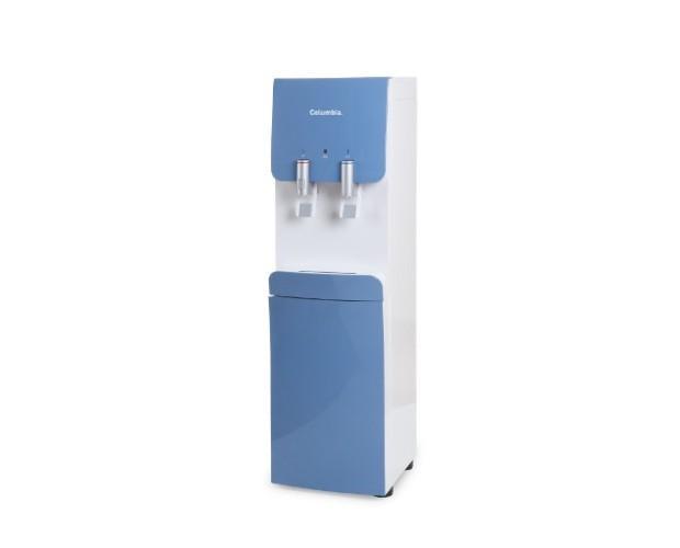 Fuente de agua Columbia. Dispensador de agua fría, del tiempo o caliente con filtros