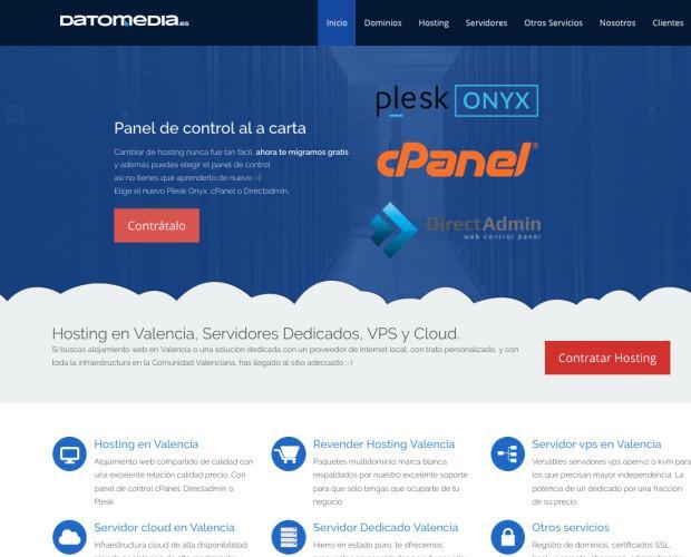 Servicios de hosting. Proveemos soluciones personalizadas de hosting.