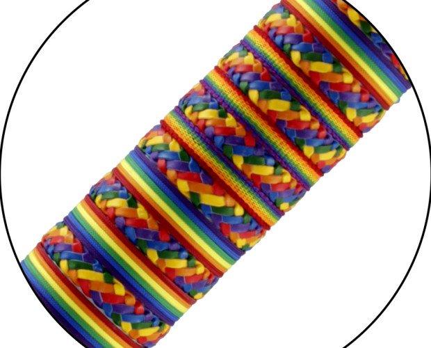 Pulseras LGTB. Pulseras varios modelos y colores de la bandera del arco iris