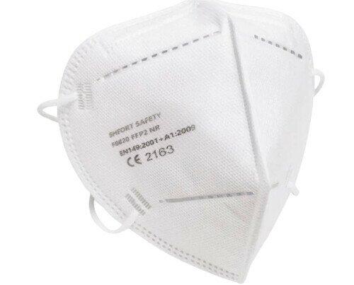 Mascarilla FFP2. Mascarillas auto filtrante de protección FFP2 NR con certificado CE