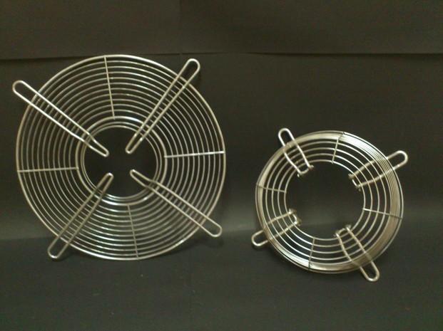 Manipulado alambre. Fabricamos rejillas para motores de ventilación