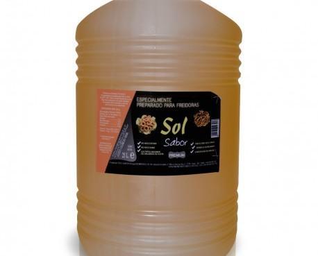 Aceite de Girasol.Aceite alto oleico Sol 80%, 25 litros