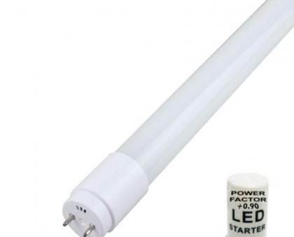 Tubo LED 22W. Incluye puente para cebador