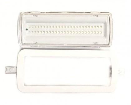 Luz de emergencia. La luz de emergencia LED de 4W con kit para techo,