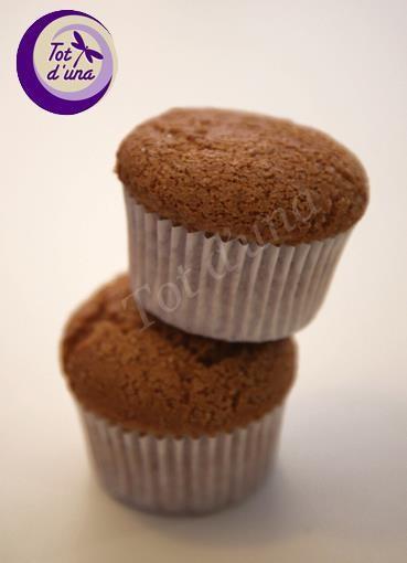 Muffins. Muffins sin gluten y veganos