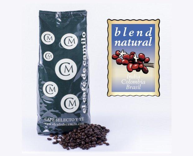 Café de Camilo Natural. Una mezcla equilibrada de café natural realizada por nuestro maestro tostador