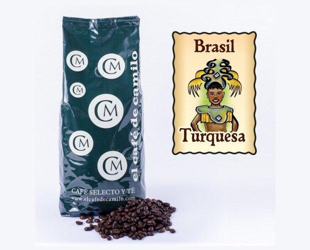 Café Brasil Mogiana Turquesa. Es un café suave de aroma intenso