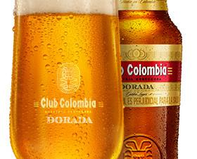 Dorada. CERVEZA CLUB COLOMBIA