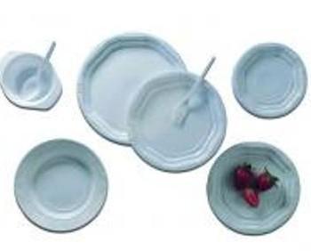 Platos de Plástico. Platos de plástico de distintos diámetros: 20 cm., 17 cm., y 15 cm.