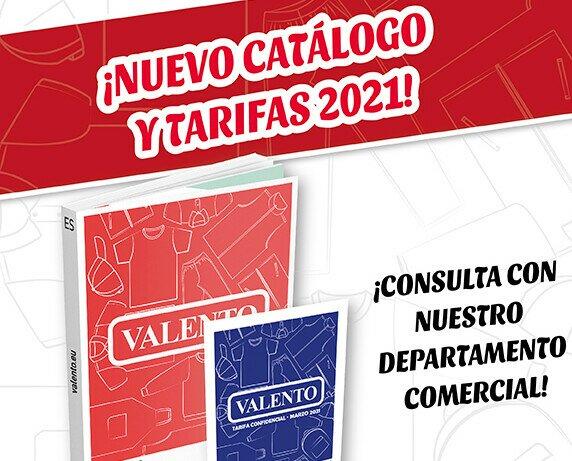 Nuevo catálogo y tarifas 2021. Ya está disponible el nuevo catálogo y tarifas 2021,