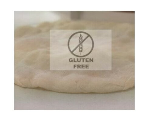Base Pizza sin Gluten. Podemos emplear todo tipo de cereales sin gluten para esta base