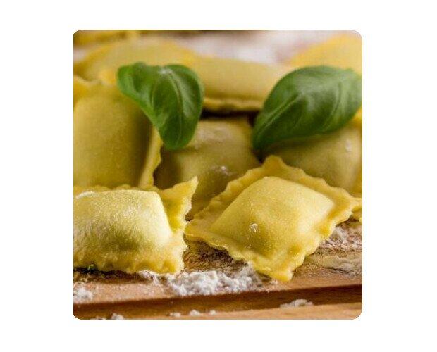 Ravioli Ricotta y Espinaca. Una receta italiana que nunca puede faltar