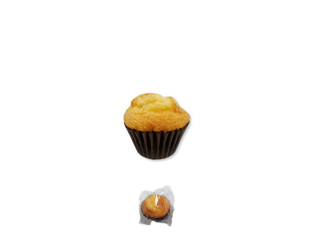 Muffin suprema natural. Los muffin son tiernos y esponjososo