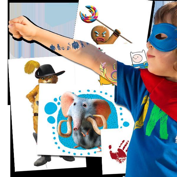 Tatuajes Temporales. Líderes en Impresión Promocional e Industrial