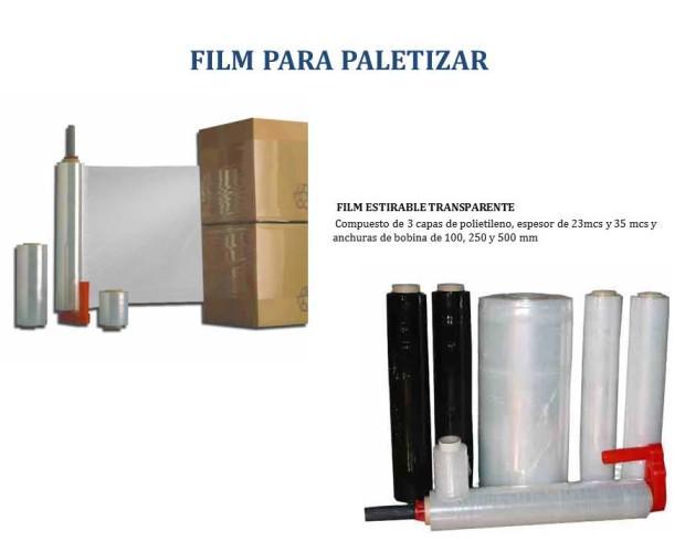 Film Plástico.Film transparente