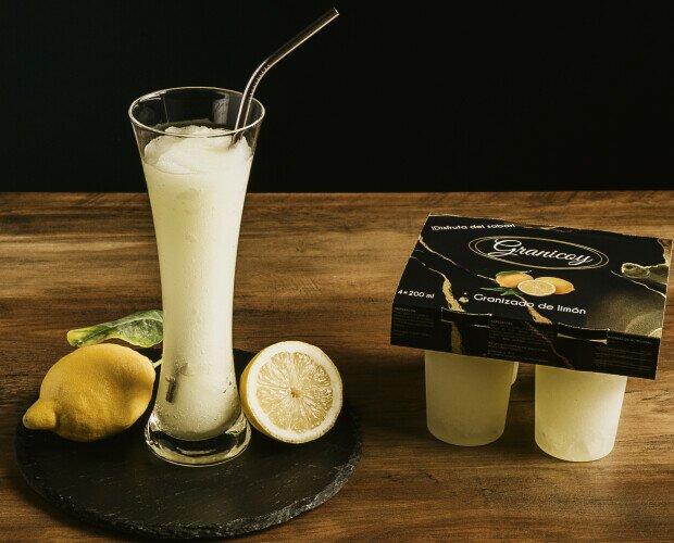 Granizados.Granizado de limón en pack de 4*200ml