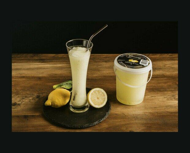 Granizado de Limón 1 Litro. Refrescate conun litro de nuestro sabor especial de limón