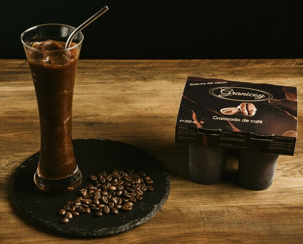 Granizado de café. Granizado de café en pack de 4*200ml