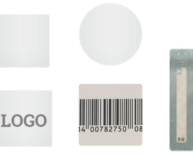 Etiquetas antihurto. Etiquetas antihurto AM y RF