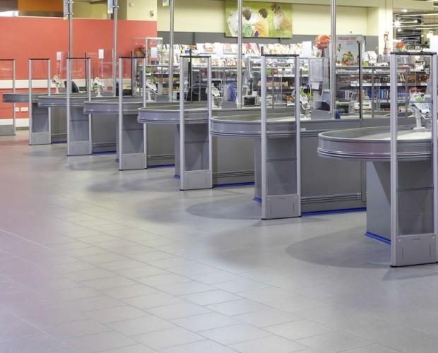 Antenas i37. Instalación 8 antenas i37 Nedap en supermercado