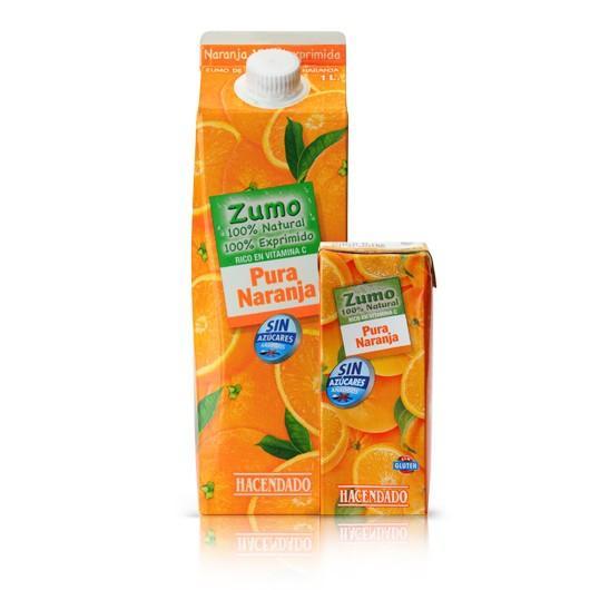 Zumos. Zumos de frutas