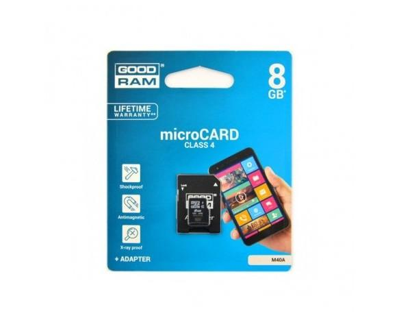 MICRO SD 8GB. Good RAM, Class 4