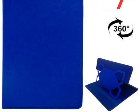 Fundas para Tablets.Tablet 7 pulg Polipiel Azul Giratoria