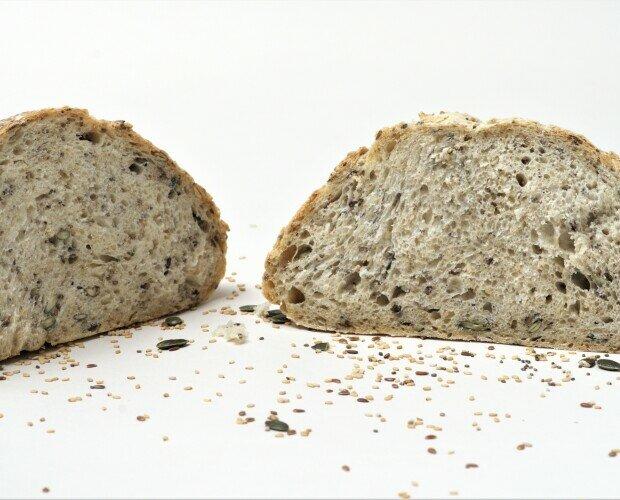 Pan elaborado con Semillas Mix. Pan nutritivo alto en proteína y fibra, con 5 semillas y 3 cereales