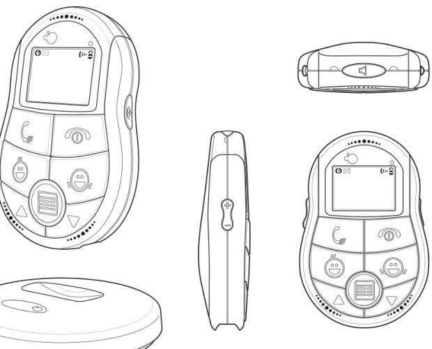 Diseño Industrial.Dibujos para un diseño registrado