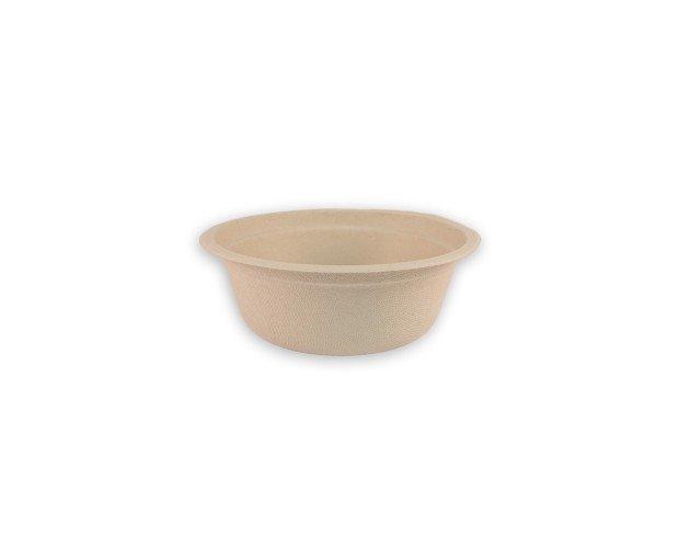 Bol de Caña. Biodegradable y compostable, resistente a líquidos y apto para horno y microondas