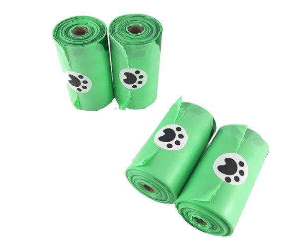 Bolsas Caninas. Higiénicas compostables en rollo para mascotas.