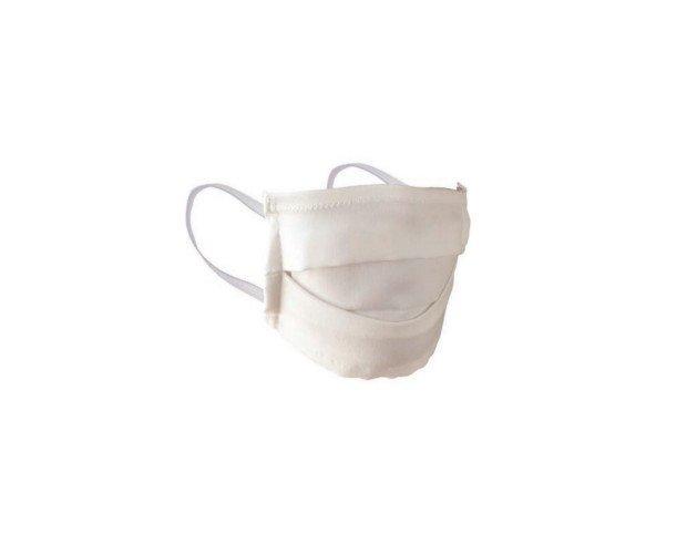 Mascarilla Higienica Reutilizable. Confeccionada con dos capas de tejido biodegradable 100% Lyocell