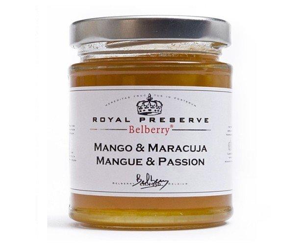 Confitura de mango y maracuya. Confitura muy exótica con un equilibrio perfecto de dulzor.