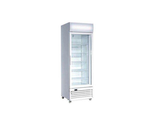 Armario expositor congelación. Capacidad neta: 360L